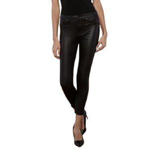 NWT 7 For All Mankind Skinny Vegan Leather Pants